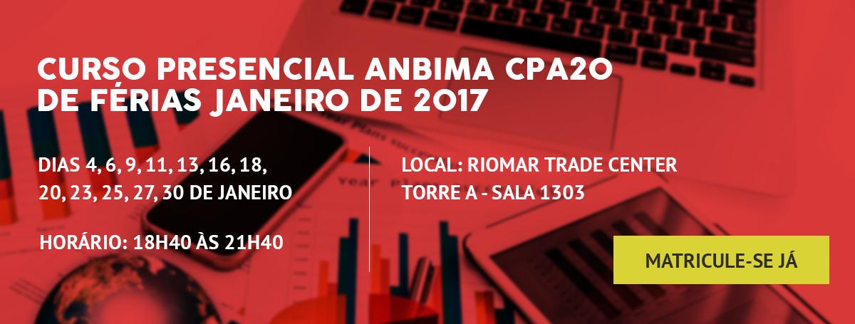 CPA10 - Curso Presencial Anbima (Antonio Amorim)