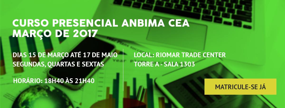 cea - Curso Presencial Anbima (Antonio Amorim)